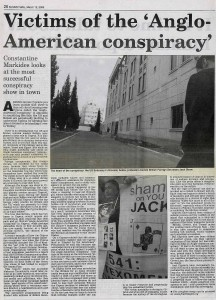 'Anglo-American Conspiracy'