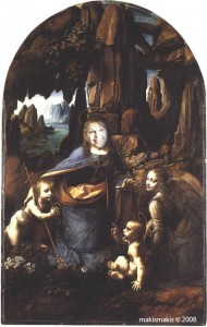 Virgin of the Rocks or 'Mother Palin' by makismakis (assisted by Leonardo da Vinci)